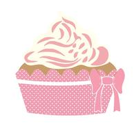 cute dessert sweet pink drawing
