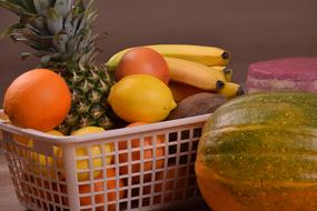 Food Fruits plastic Basket