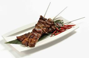 Asian Barbecue plate