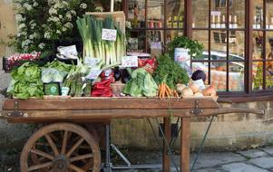 Fruit Vegetables street shop