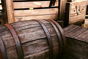 Barrel Wooden