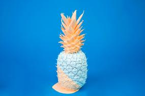 Pineapple Fruit blue pink