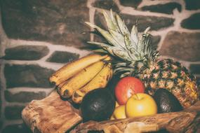 Fruits and Pineapple