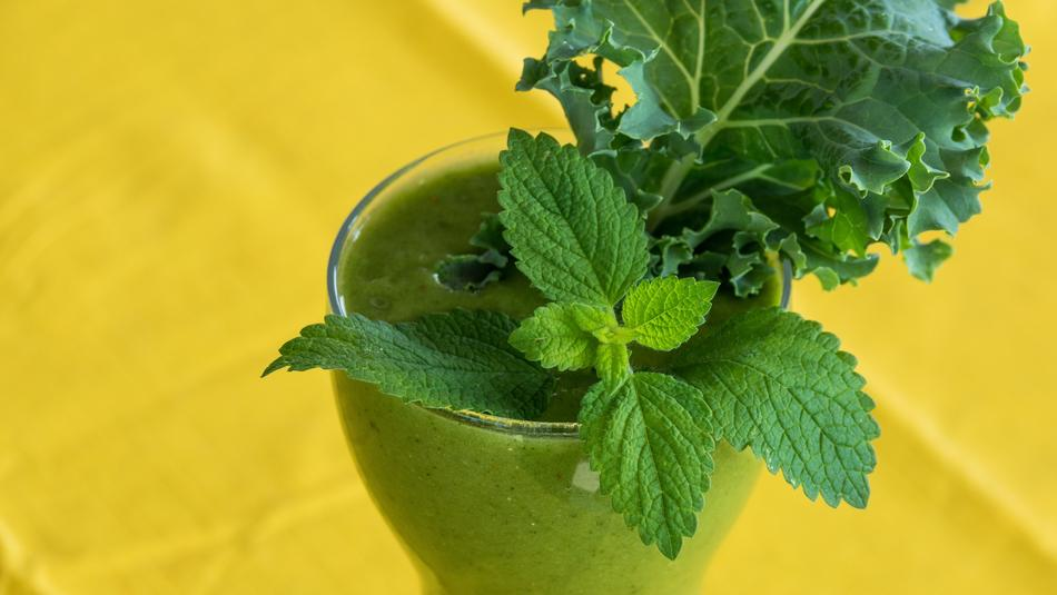 Green Smoothie fresh mint