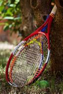 big Tennis Rackets and Balls