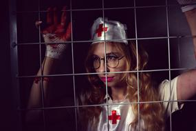 Nurse Hospital Halloween person