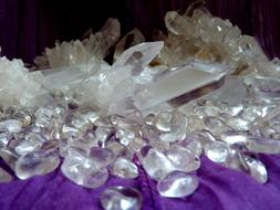 charming Rock Crystal Clear White