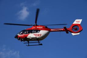 air rescue helicopter