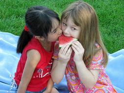 Children Watermelon