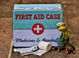 First Aid Frog