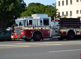 Fire Truck Engine city
