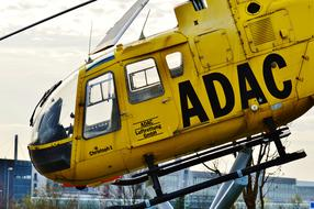 Helicopter Adac Rescue