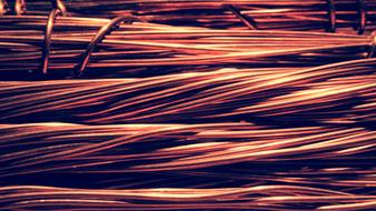 red Wire Copper Electric