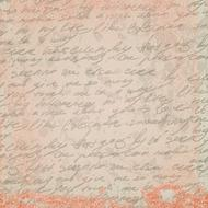 handwritten text on the vintage paper