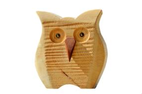 Owl Wood Decoration