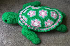 Sea Turtle green toy