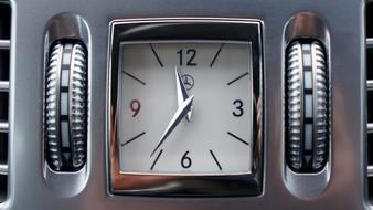 classic Mercedes-benz Car clock