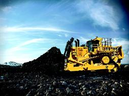 Cat Dozer D11 yellow