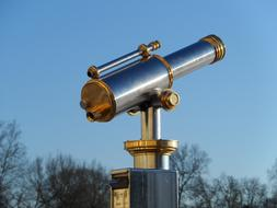 Telescope Technical grey gold