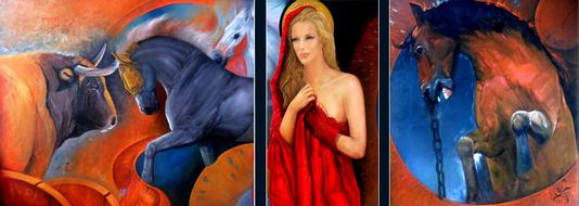 Paintings Art woman
