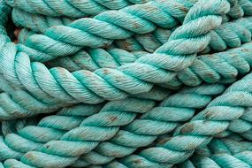 Rope Green blue