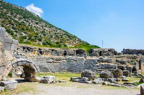 Ancient City Of Limyra