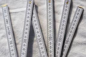 Folding Rule Measure Crafts