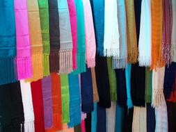 Shawls Craft Colors