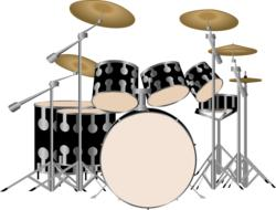 drums drum set background music