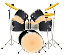 Drums Drum Set Background