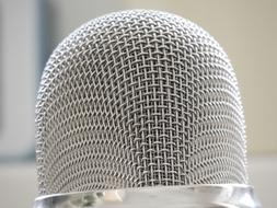 Microphone Silver Audio