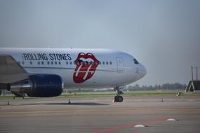 Rolling Stones Airplane