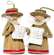 Carol Singers Decoration doll