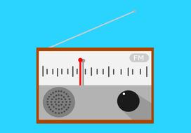 fm radio,drawing, icon