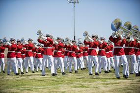 Drum And Bugle Corps Of The Marine Corps