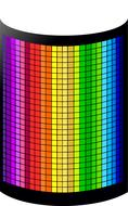 graphic equalizer colorful pattern