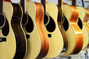 New Guitars wood