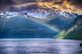 unusually beautiful Fjords Norway