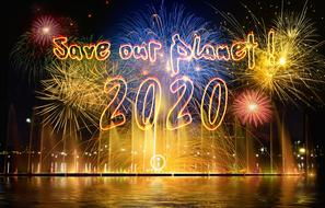 fireworks save our planet