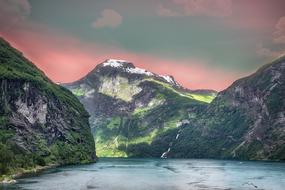 attractive Fjords Norway