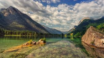 goodly Lake Hintersee Alpine