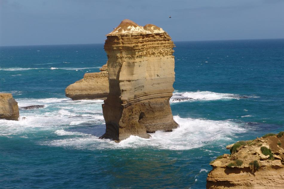 Twelve Apostles, limestone stacks in ocean, australia