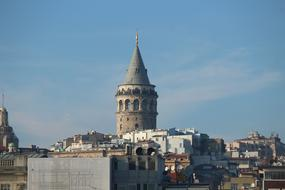 Galata Tower city