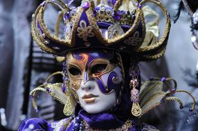 creative mask for Venice carnival