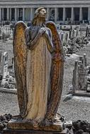 Grave Monument Angel