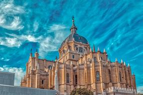 beautiful Cathedral Madrid