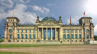 Reichstag - historical building in Berlin