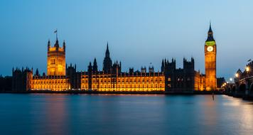 Houses Of Parliament and river