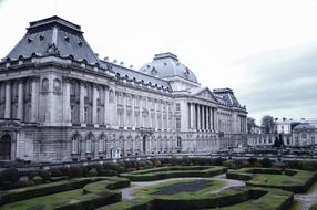 palace of Brussels, Belgium