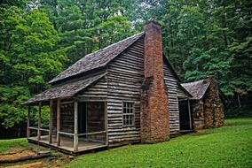 Cabin Rustic Historical wood